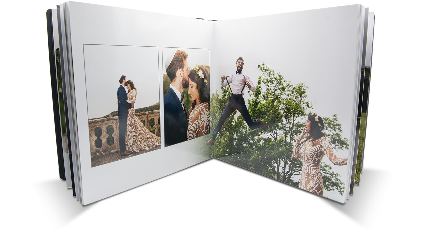 Livre photo mariage page interieur