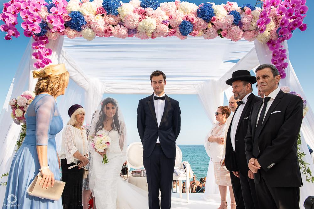 Mariage à Nice en bord de mer - Yoni Garner