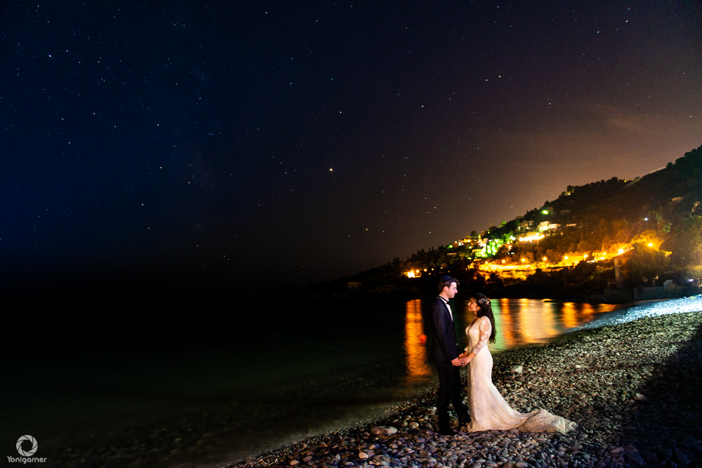 Photographe de mariage à Nice en bord de mer - Yoni Garner